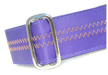 Sailcloth Dog Collar in Salty Dog Purple