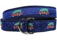 Woodie and Christmas Tree Ribbon Belt