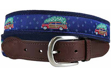 Woodie and Christmas Tree Belt