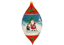 Father Frost Drop Christmas Ornament