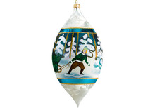Estonian Drop Christmas Ornament