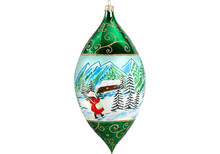 Carpathian Mountains Drop Christmas Ornament
