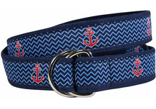 Anchor Ribbon Belt (D-Ring)