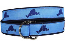 Martha's Vineyard Ribbon Belt (D-Rings)