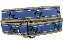 Ice Hockey Ribbon Belt (D-ring)