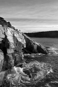 Cliff Wavebreak, Acadia National Park