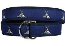 Match Race Ribbon Belt (D-Rings)
