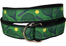 Tennis Ribbon Belt (O-Ring)