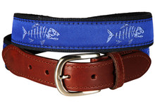 Rogue Fish Belt on Ocean Blue