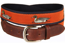 Duck Belt (on Burnt Sienna)