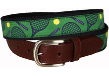 Tennis Belt (Leather Tab)