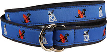 "Black Lab ""Guard Dog"" Ribbon Belt (O-Ring)"