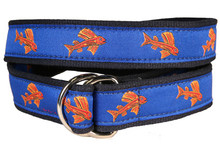 Hopkins Flying Fish Ribbon Belt (D-Ring)