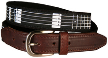 Guitar Frets Belt (Leather Tab)