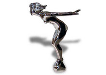 Speed Nymph Hood Ornament