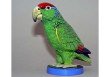 Parrot Hood Ornament with Enamel Finish