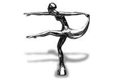 Dancer Hood Ornament