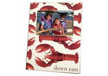 Cooked Maine Lobster Decoupage Frame