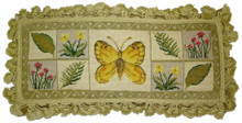 Butterfly Needlepoint Pillow 4