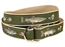 Fly Fishing Ribbon Belt (D-Rings) Freshwater