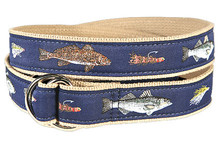 Fly Fishing Ribbon Belt (D-Rings)