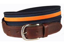 Orange Stripe Belt