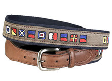 Nautical Flag Belt