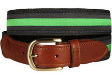 Green Stripe Belt
