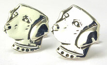 Labrador Retriever Cufflinks (Head)