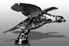 Pheasant Flying Hood Ornament (Small)