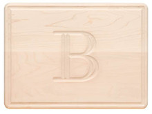 Monogrammed Cutting Board (C)