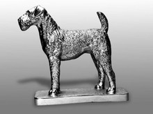 Airedale Terrier Hood Ornament