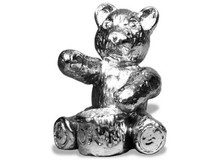 Teddy Bear with Honey Pot Hood Ornament