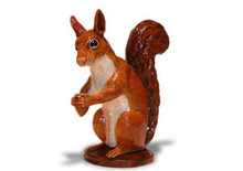 Squirrel Hood Ornament (Enamel)
