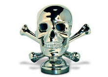 Skull and Crossbones Hood Ornament