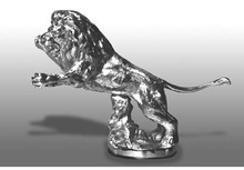 Lion Hood Ornament (Springing)