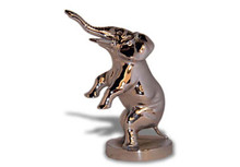 Elephant Hood Ornament (Circus on Hind Legs)