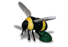 Bumble Bee Hood Ornament