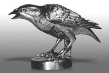 Crow Hood Ornament