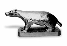Badger Hood Ornament