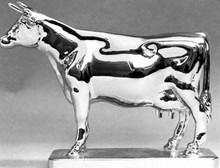 Ayrshire Cow Hood Ornament