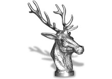 Stag Head Hood Ornament