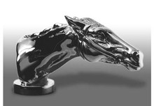 Thoroughbred Horsehead Hood Ornament