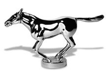 Newmarket Thoroughbred Racehorse Hood Ornament (Small)
