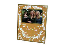 Mustard Provencial Decoupage Picture Frame