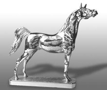 Arab Horse Hood Ornament (Large)