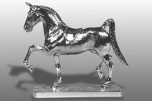 American Saddlebred Horse Hood Ornament