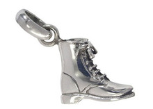 Laced Boot Charm