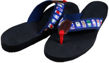 Cheap Buzz Beer Can Flip Flops