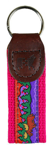 Purple Moose Key Fob